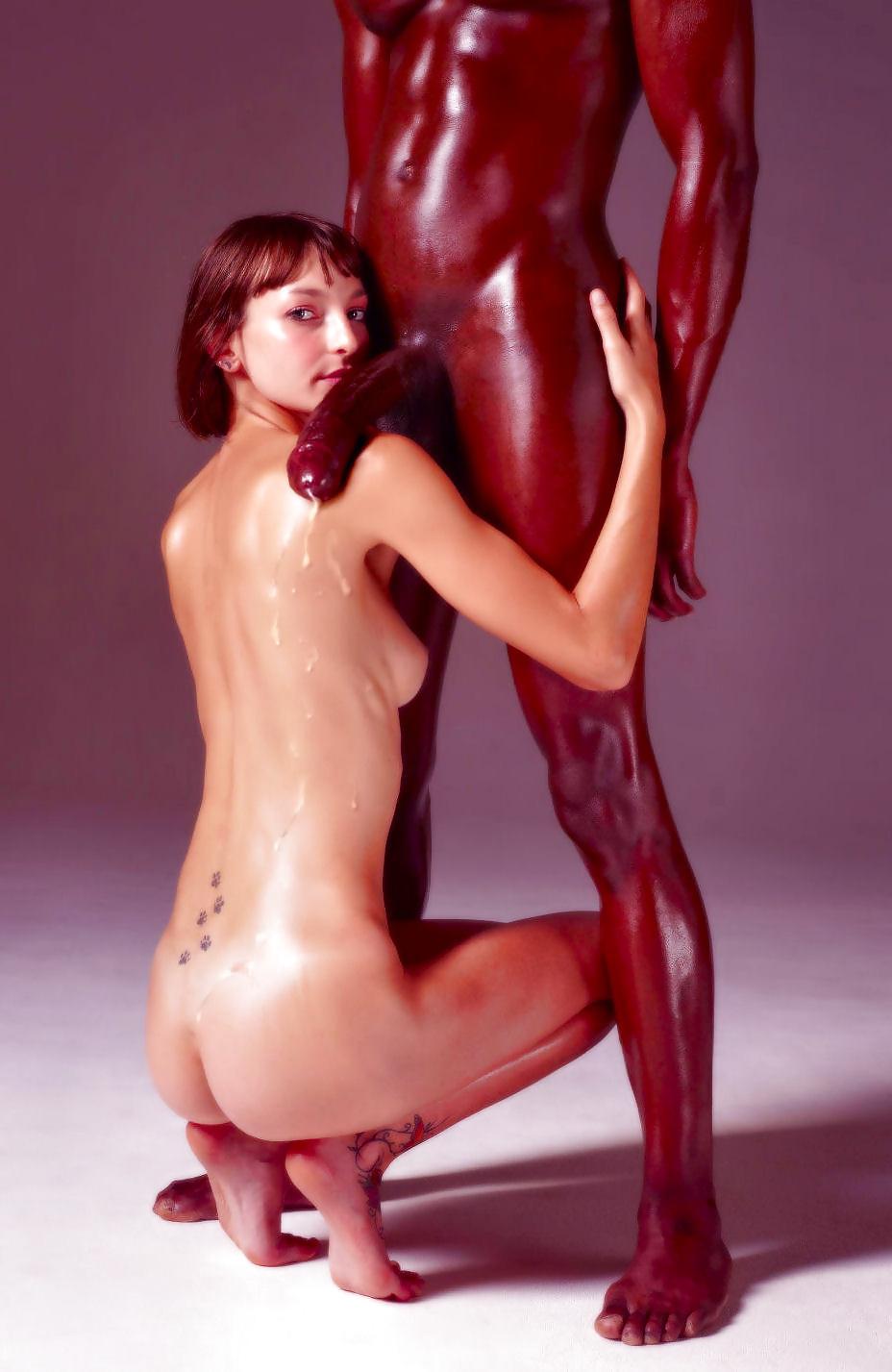 Nude gallery Black gay dick massage