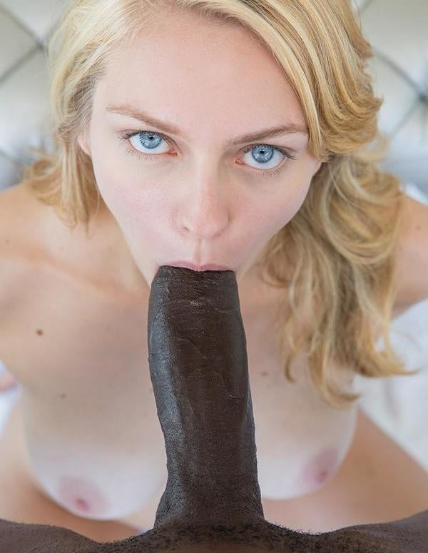 Length upskirt blonde sucking black dick full sex photos