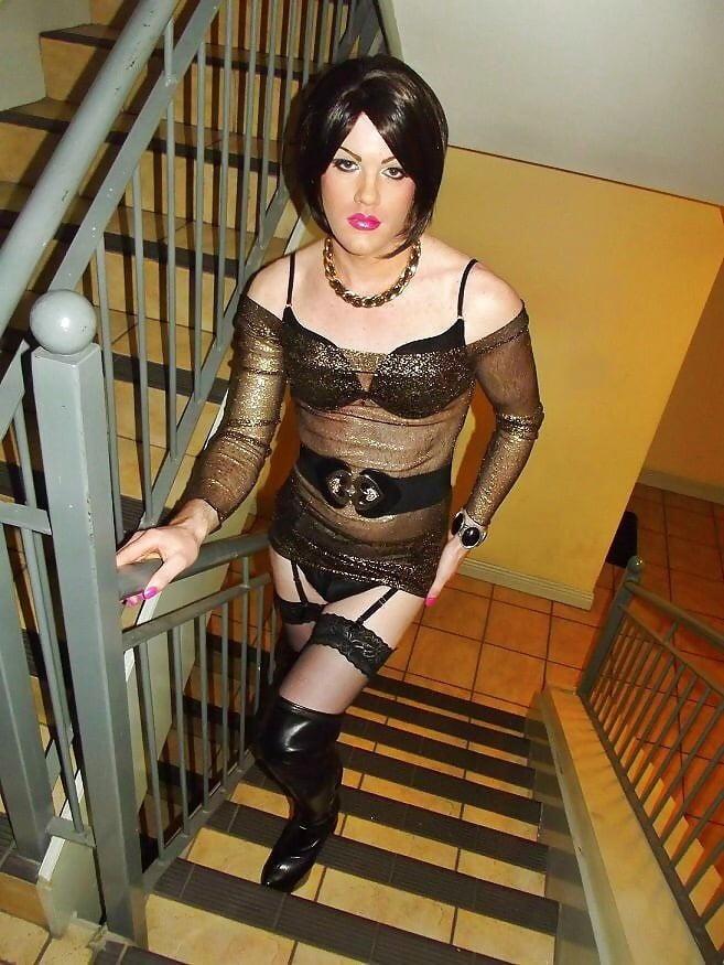 Transvestite shemale photo story