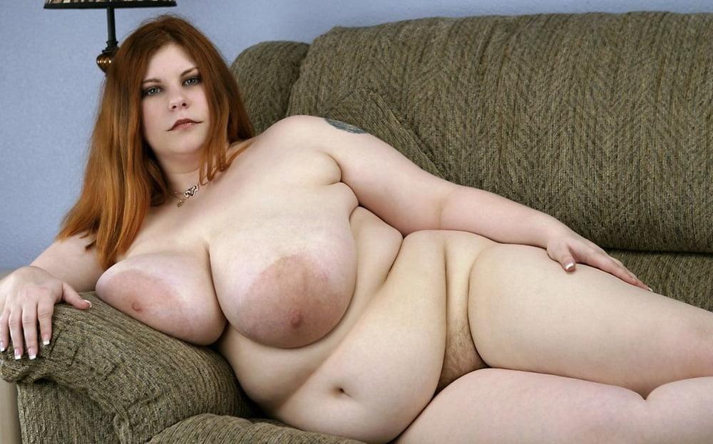 Huge Tits On Redhead Curvy BBW Milf