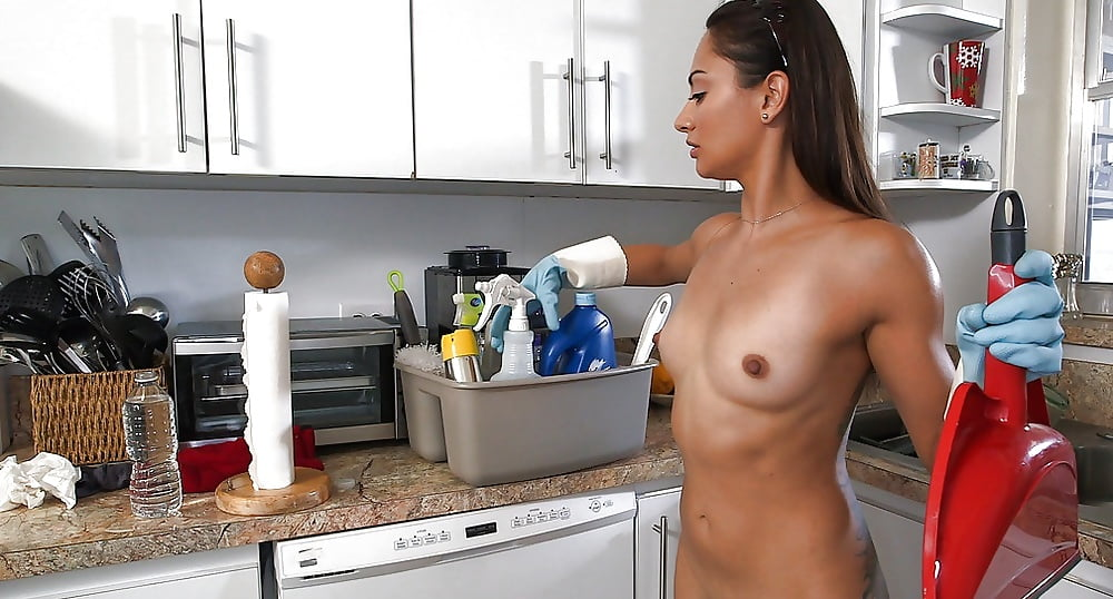 Sexy house cleaner