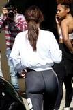 Selena Gomez Leggings Ass