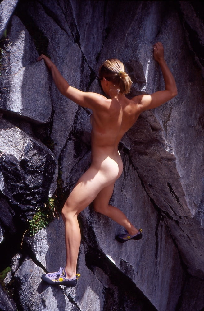 Naked Mountain Climber Wants Everyone To Loosen Up