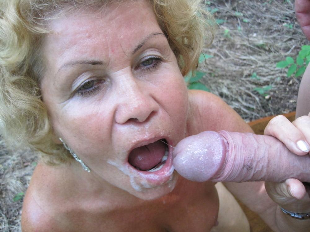 81yr old Grandma Seduce to Public POV Sex by Young Guy - 21 Pics