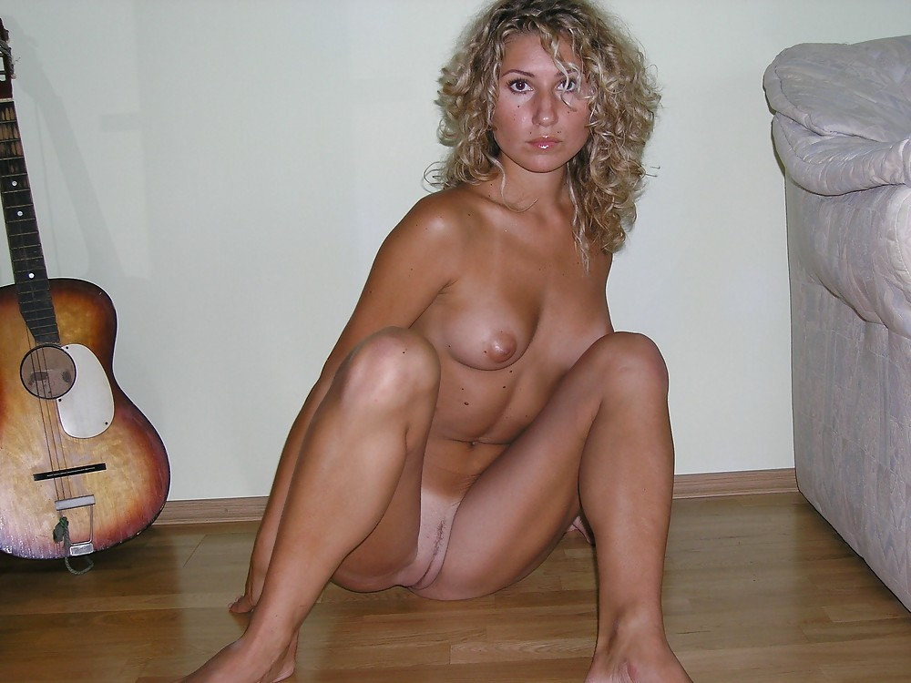 Blonde Curly Hair Amateur