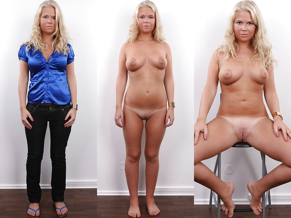 Clothed then naked photos 5