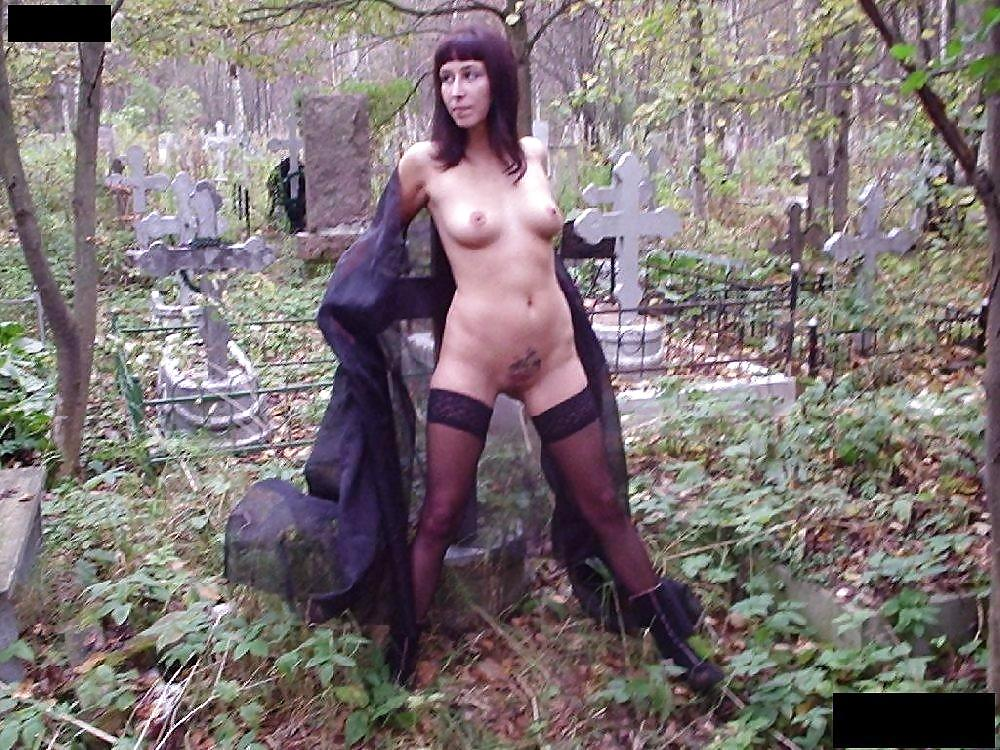 Nude cemetery porn — pic 6