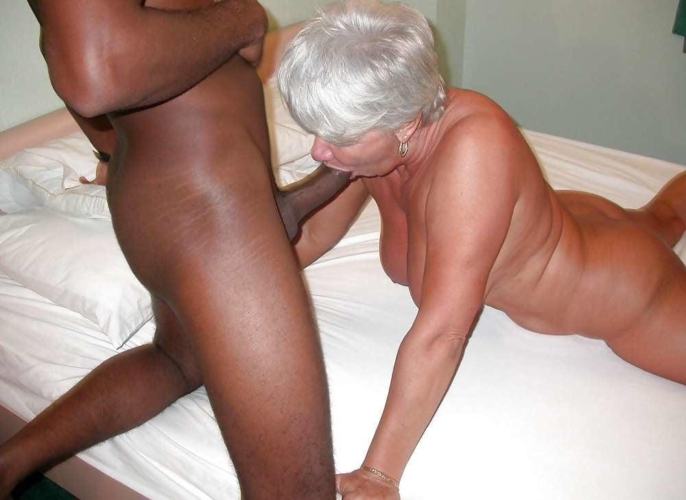 Old Granny Whore Taking A Big Black Dick In Hot Grandma Photo