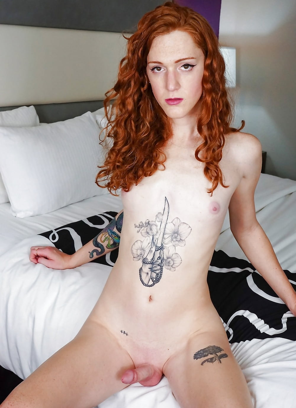 Ginger tranny blank template