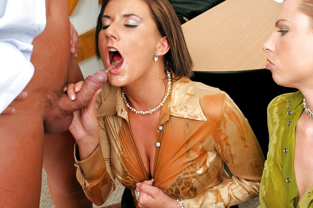Cum on business woman