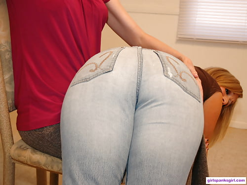 jeans Paddled in