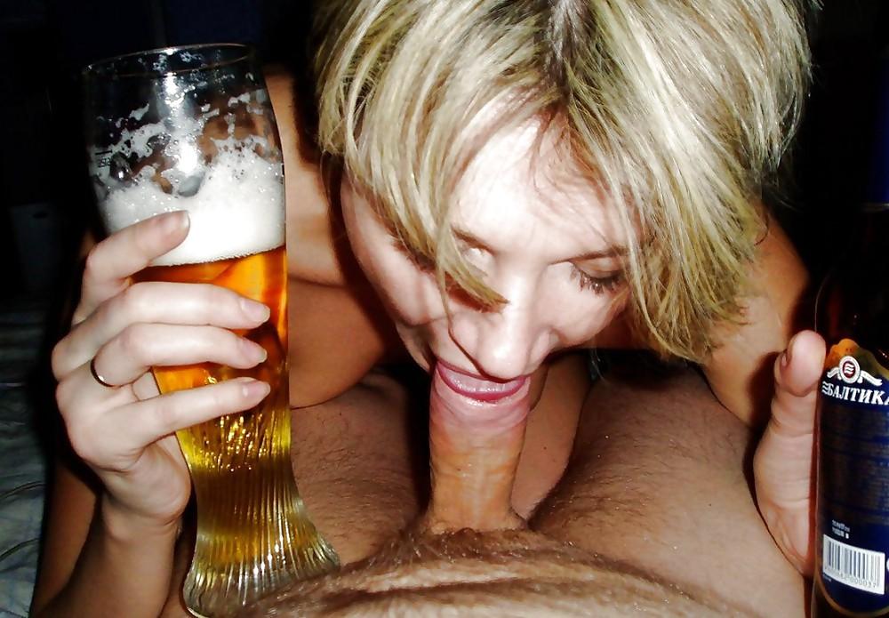 Секс пьяной девушки с пивной бутылкой видео — photo 1