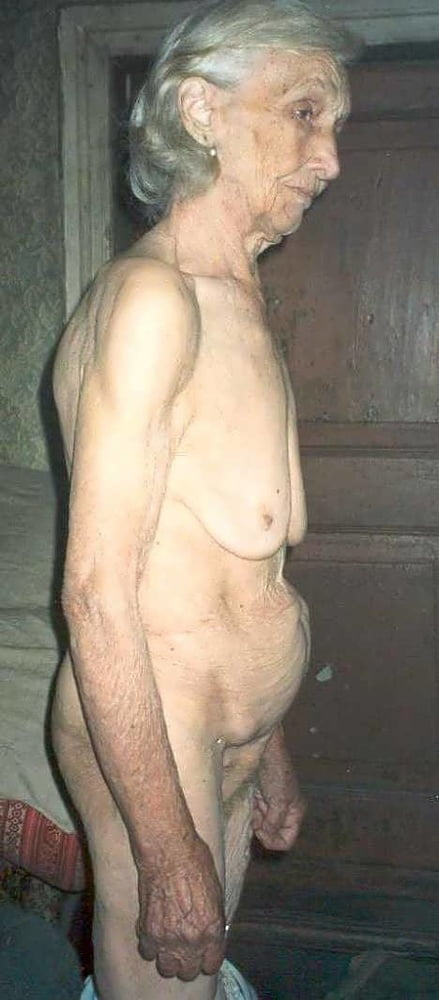 Very Very Old Oma Nude