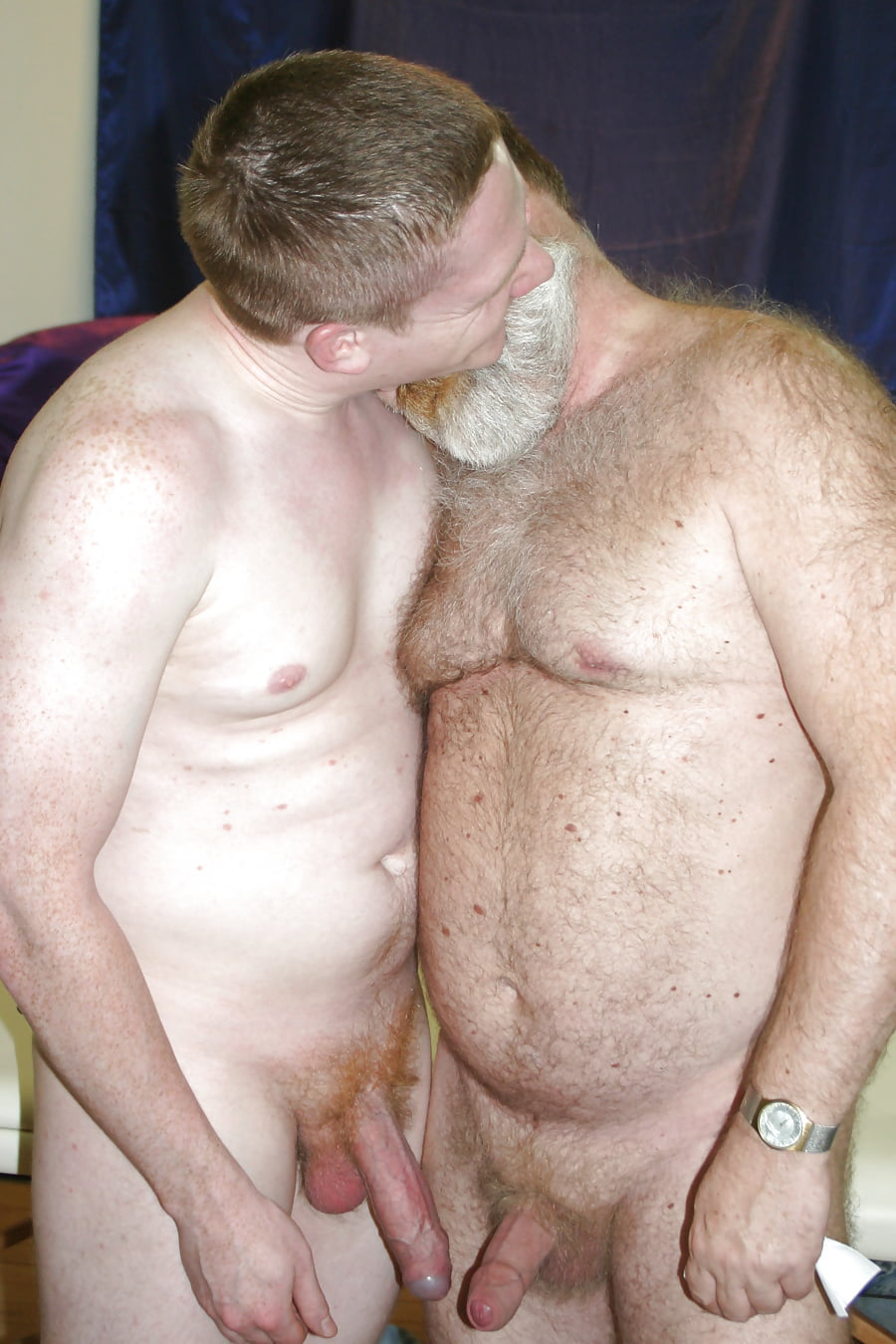 Nude dad and grandpa #12