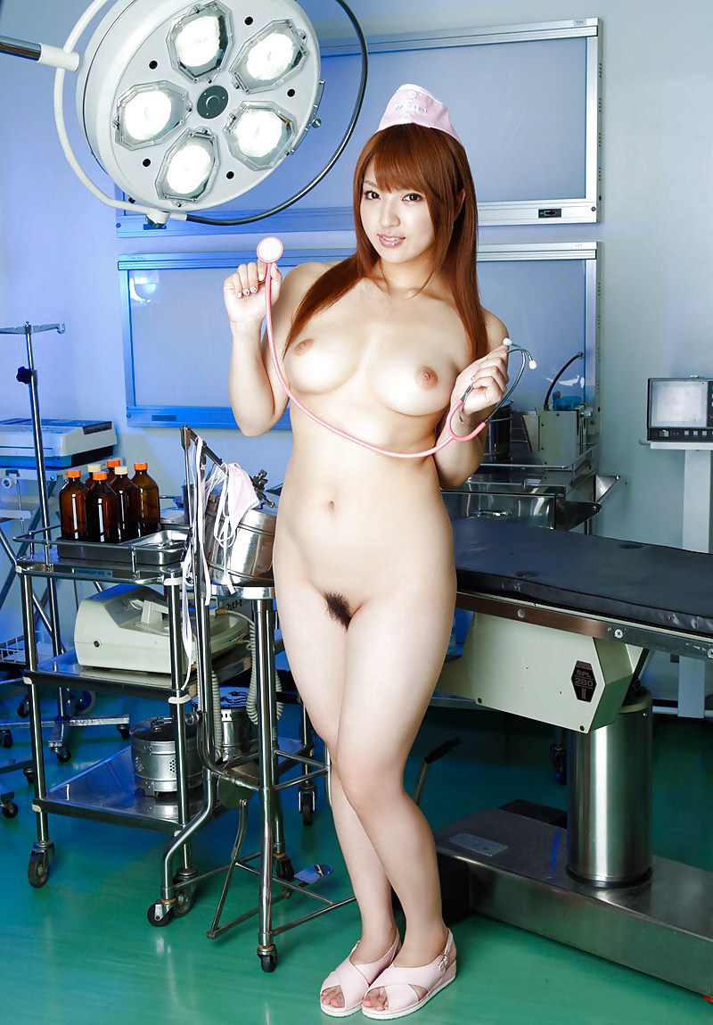 Sexy asian nurse nude