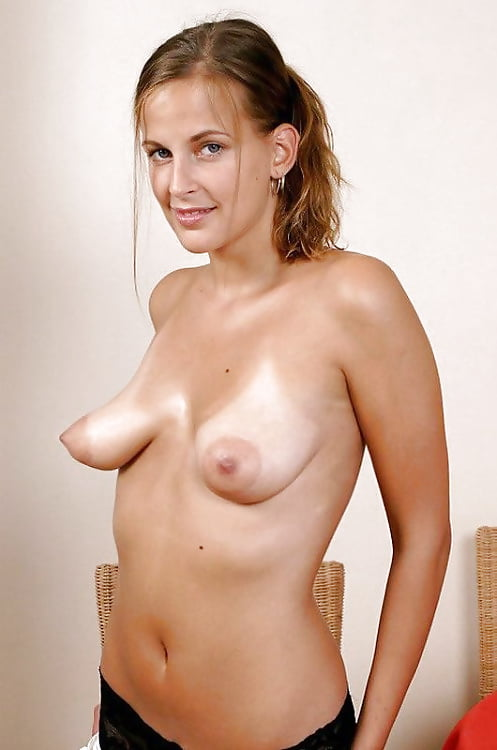 Young girl saggy breasts