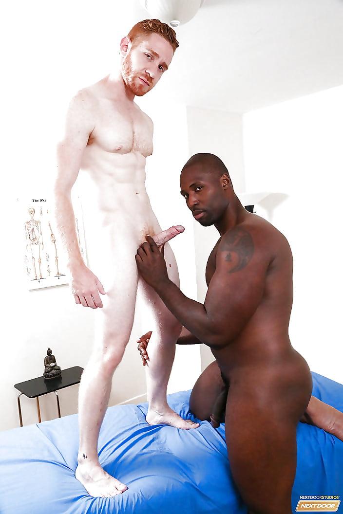 Ebony and ginger guy — 1