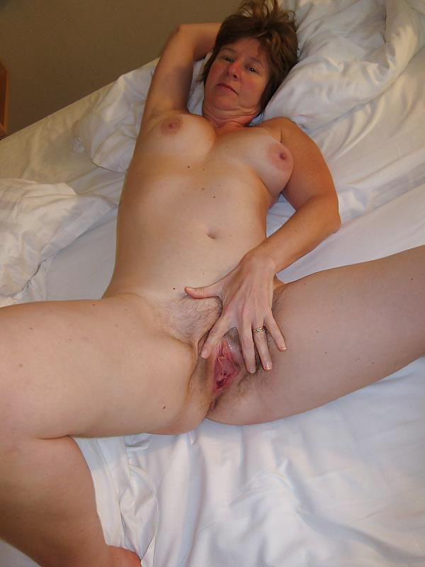 Mother shows son wet pussy, family sex mother and son