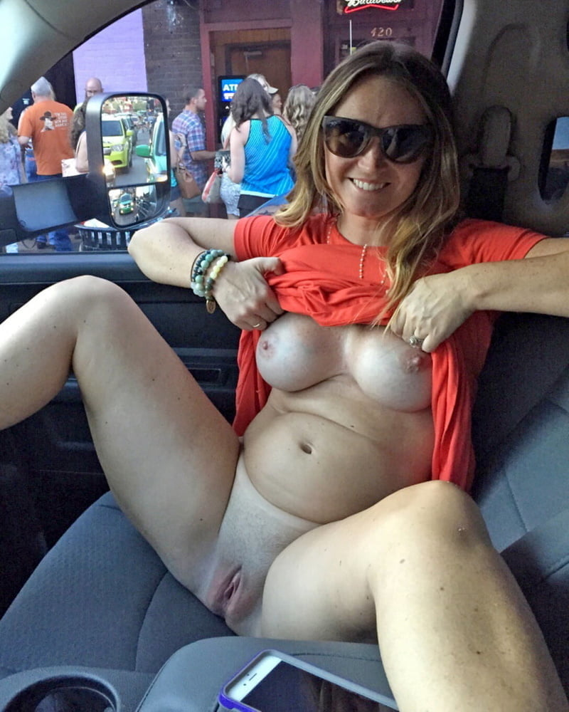 Sluttiest Girl In Iowa Naked In My Car While Driving Around