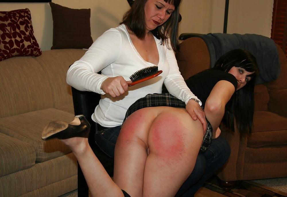 Debra hairbrush spanking free pics