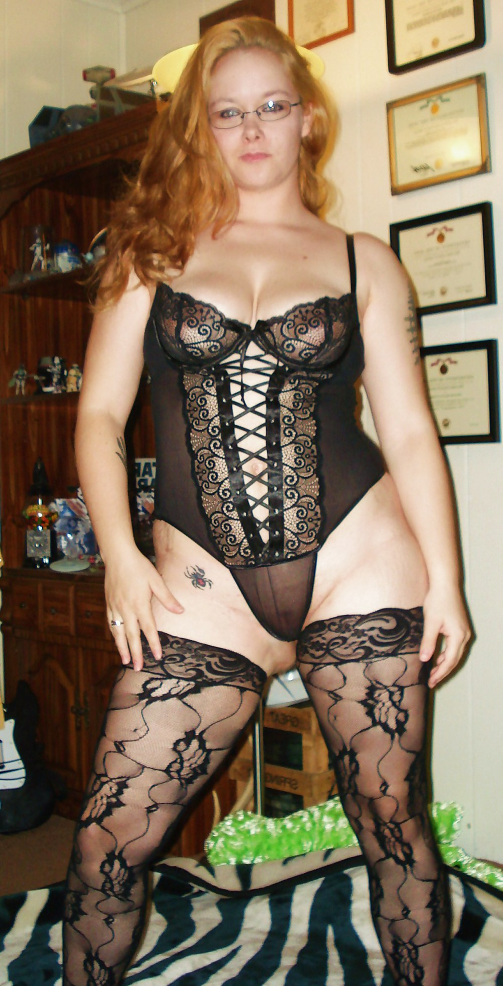 Curvy milf lingerie amateur — photo 5