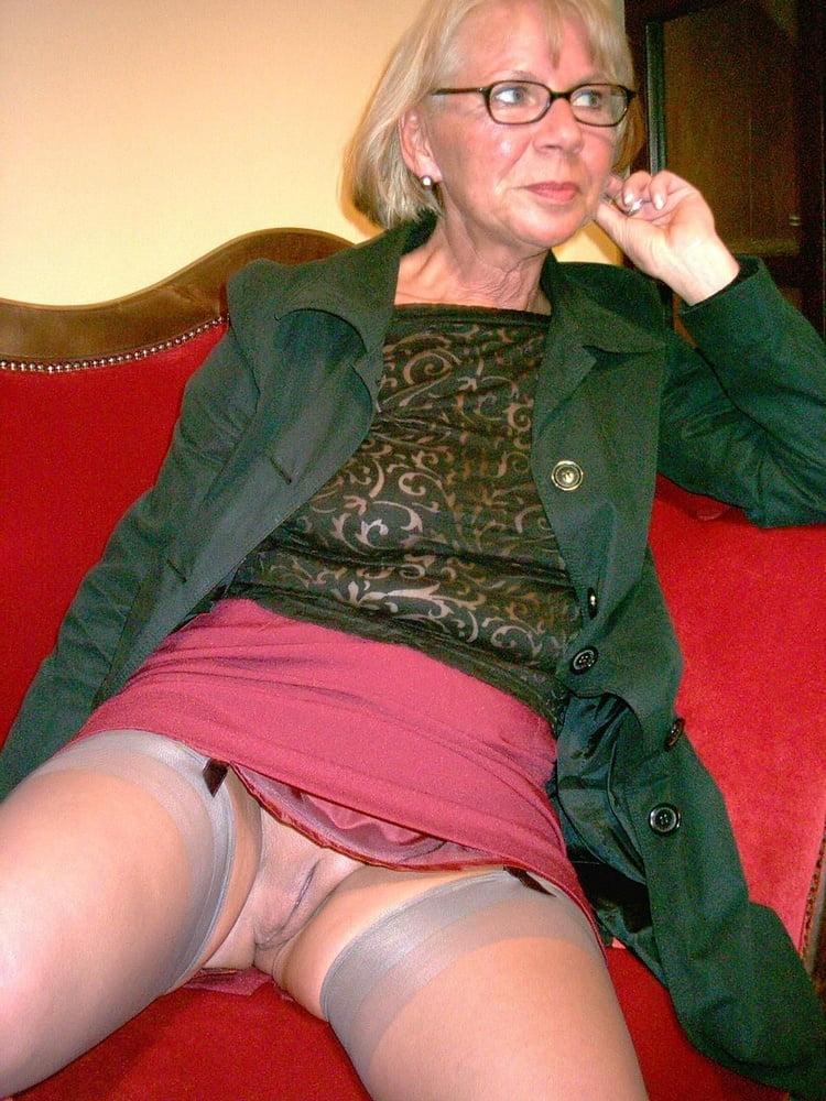 British granny upskirt panty pervert