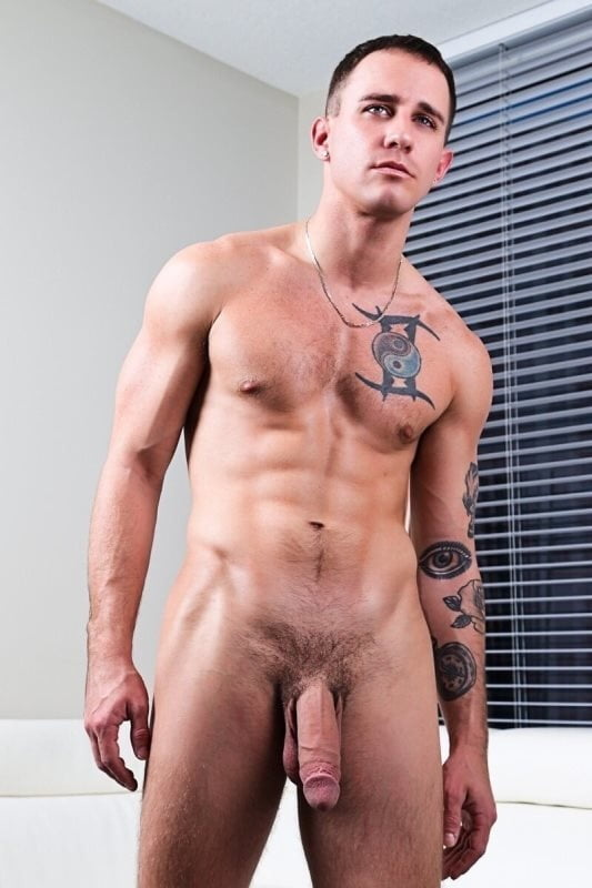 Fit young men naked