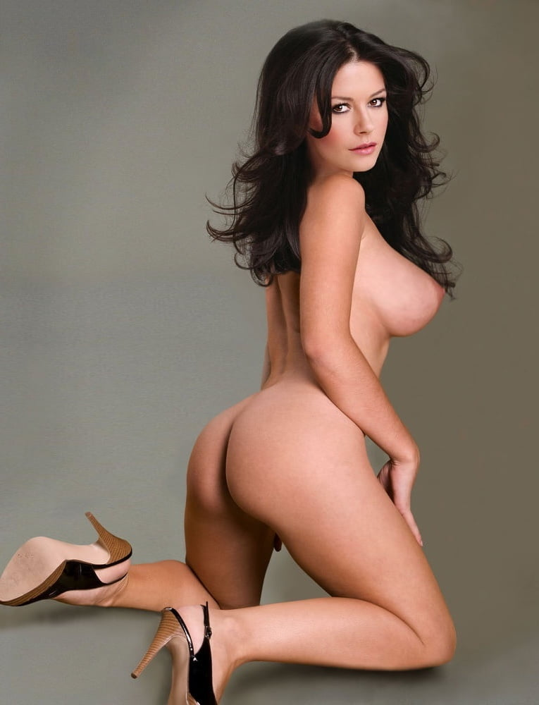 Catherine Zeta Jones Breast Size