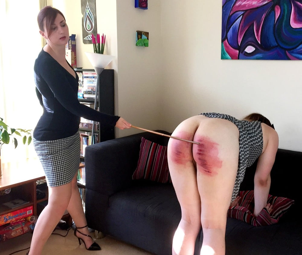 Images of girl spanking boy