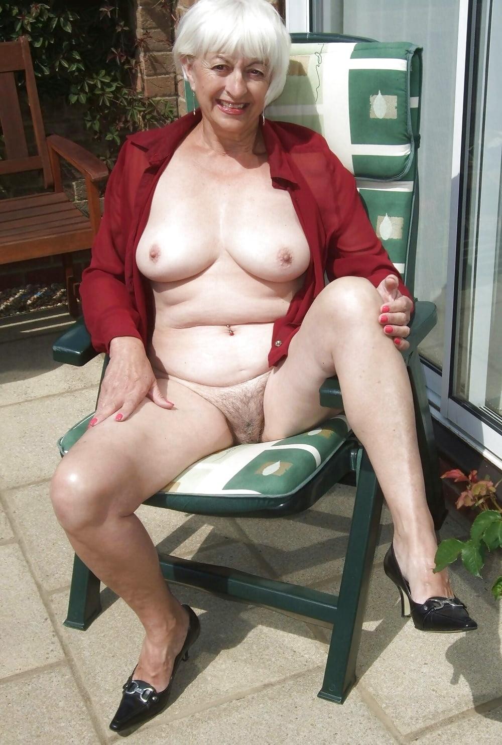 Markings your seductive nude grandma train