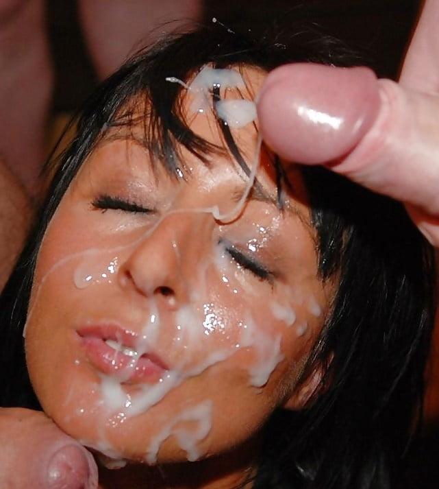 Залупень в сперме видео, фото девушка сосет очень большой член