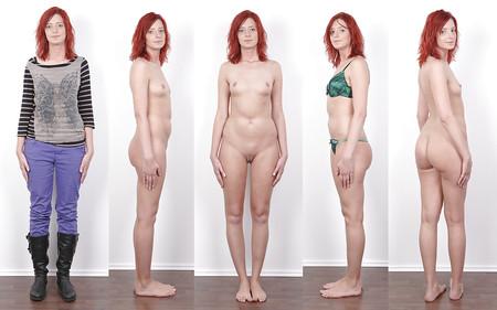 redhead undressing pics Free