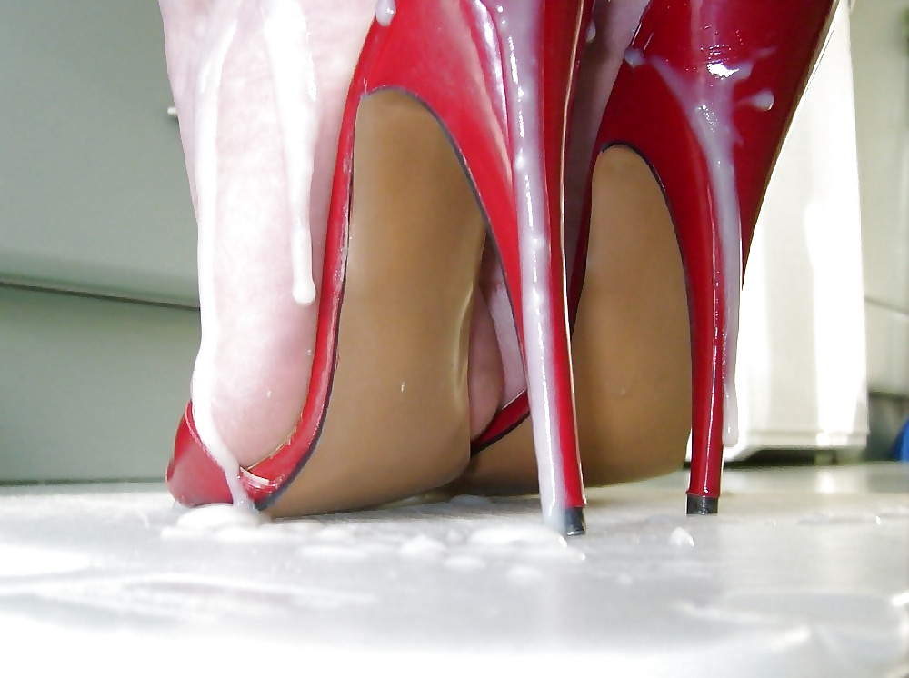 Clean My Cum Drenched Heels - Mainly - 26 Pics - Xhamstercom-6184