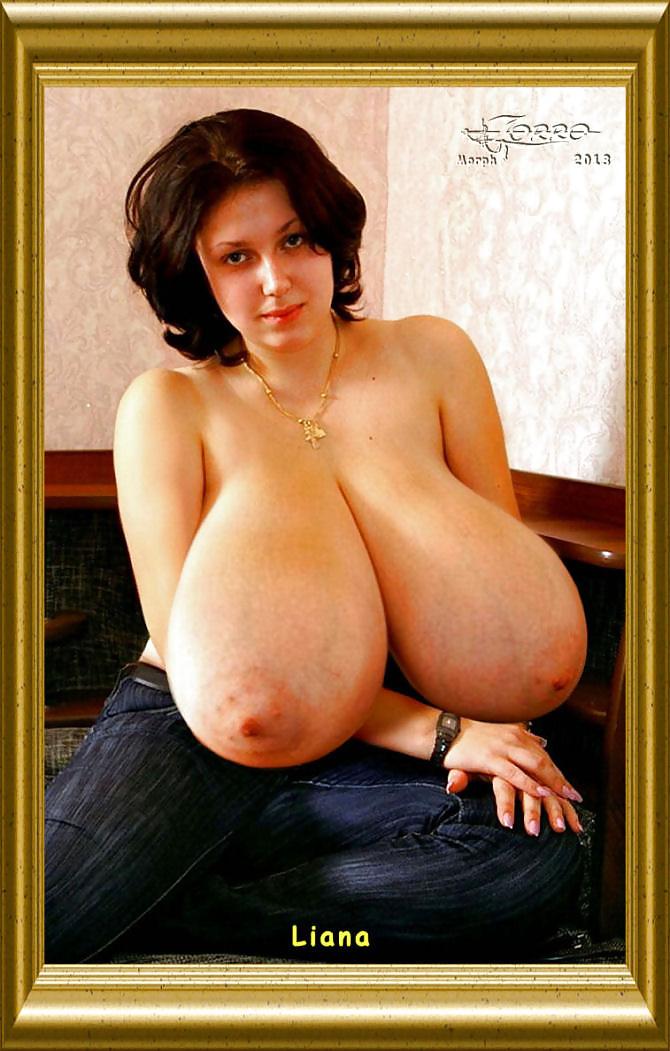 Сама фотографирует свою грудь сама