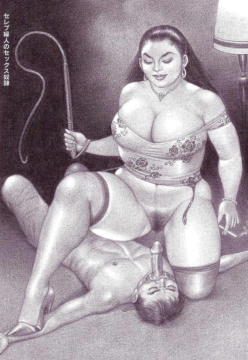 Порно рисунки женщины доминируют 5