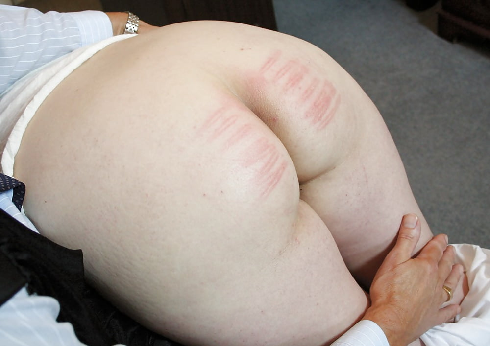 Rough hardcore birthday spanking bare butt