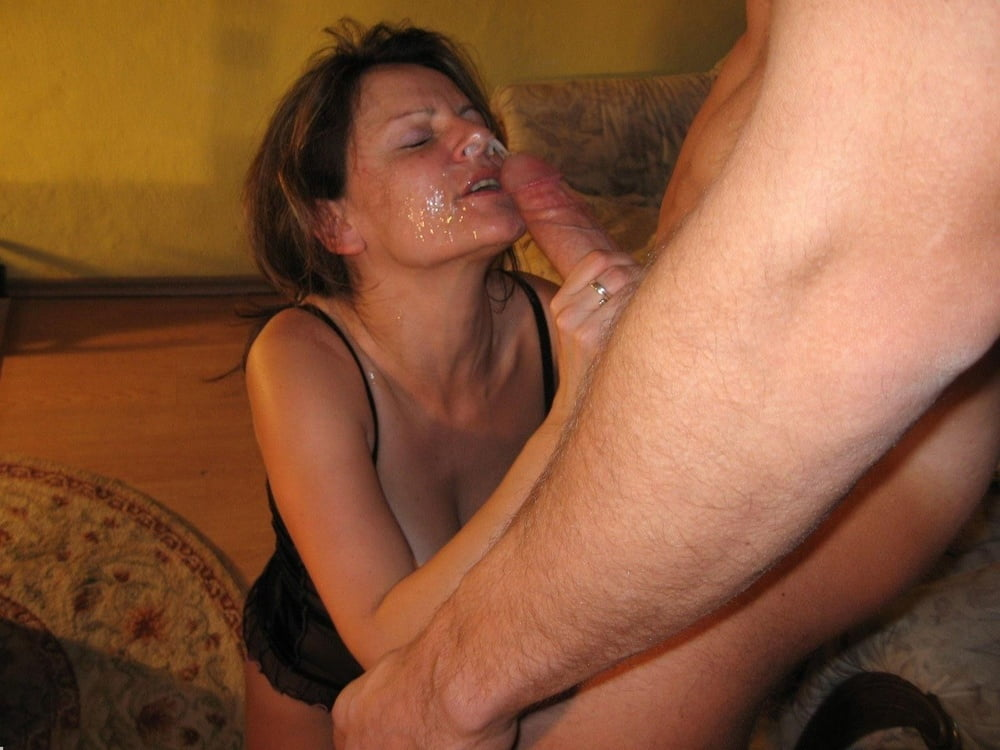 Homemade facials on mature moms 5