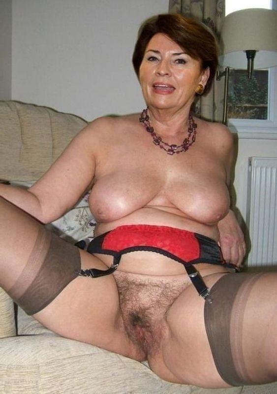 Naked skinny old women