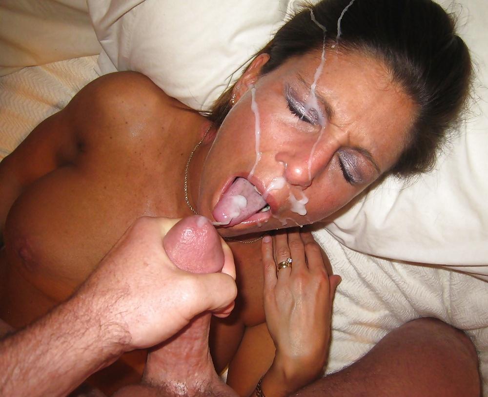 Married Sexy Amateur Milf Sucks Boyfriend's Cock Cum In Mouth Summer Rhaine
