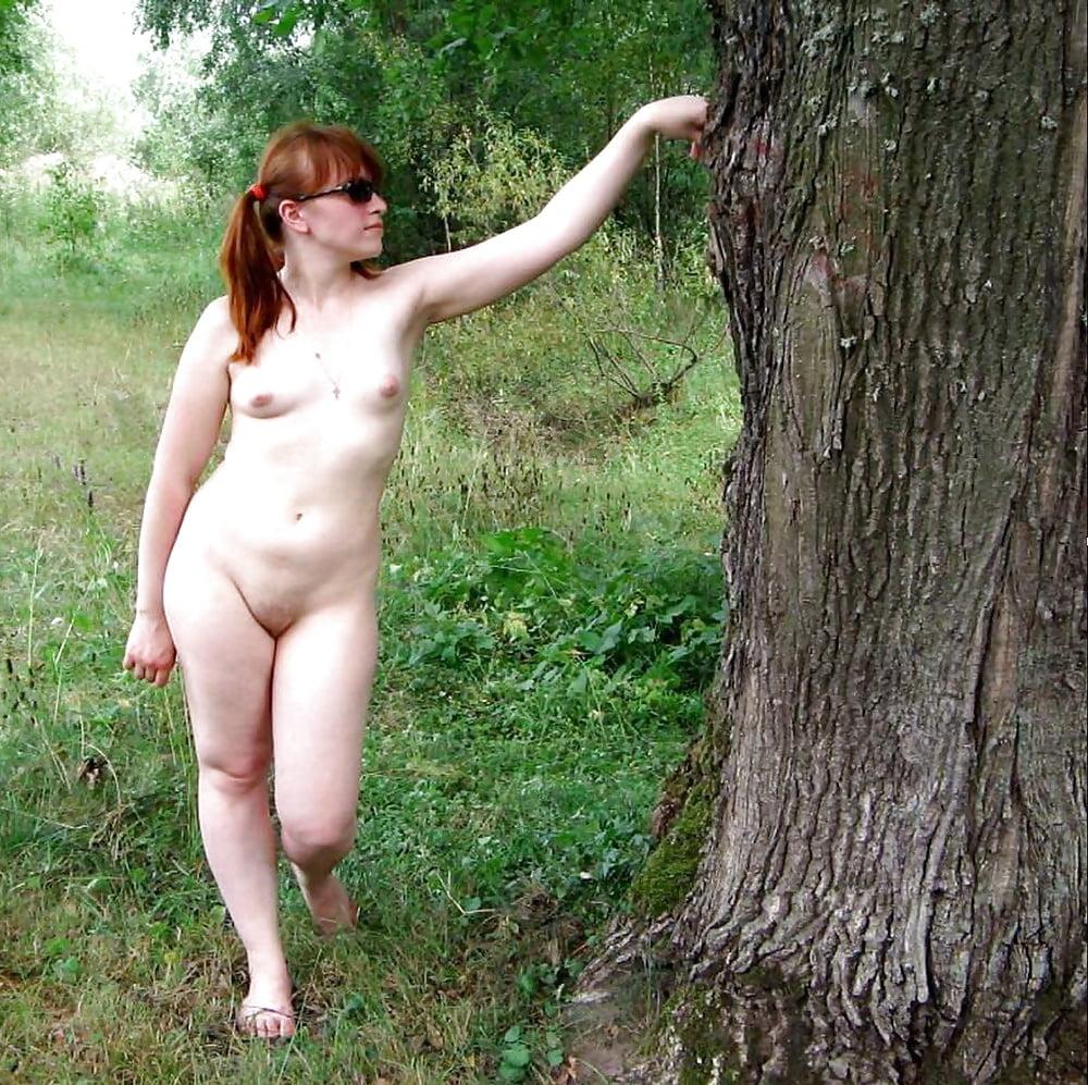 Sexy Amateur Girls Posing Outside