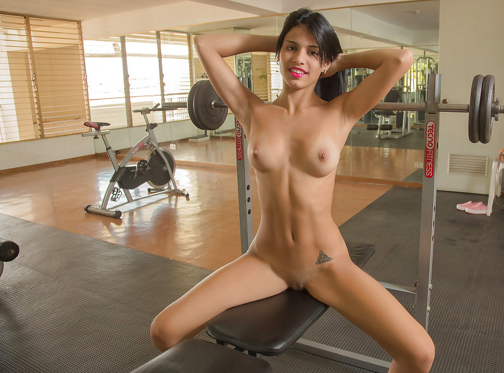 Naked workout pics