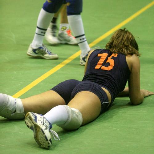 Hottest volleyball women