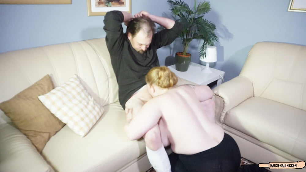 BBW German Cheating Wife Hard Sex with Husband's Co-Worker - 8 Pics