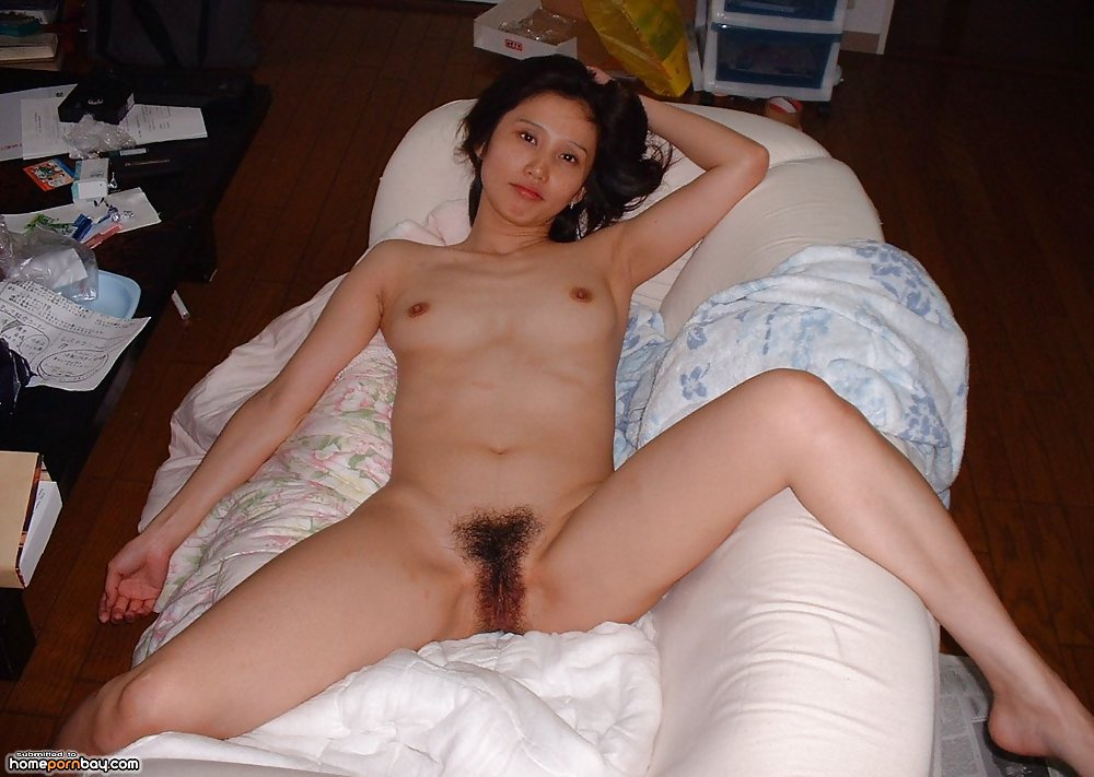 Hairy asian amateur nude