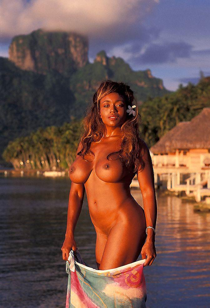 Hot Hawaiian Beauty Showing Off Her Small Perky Tits