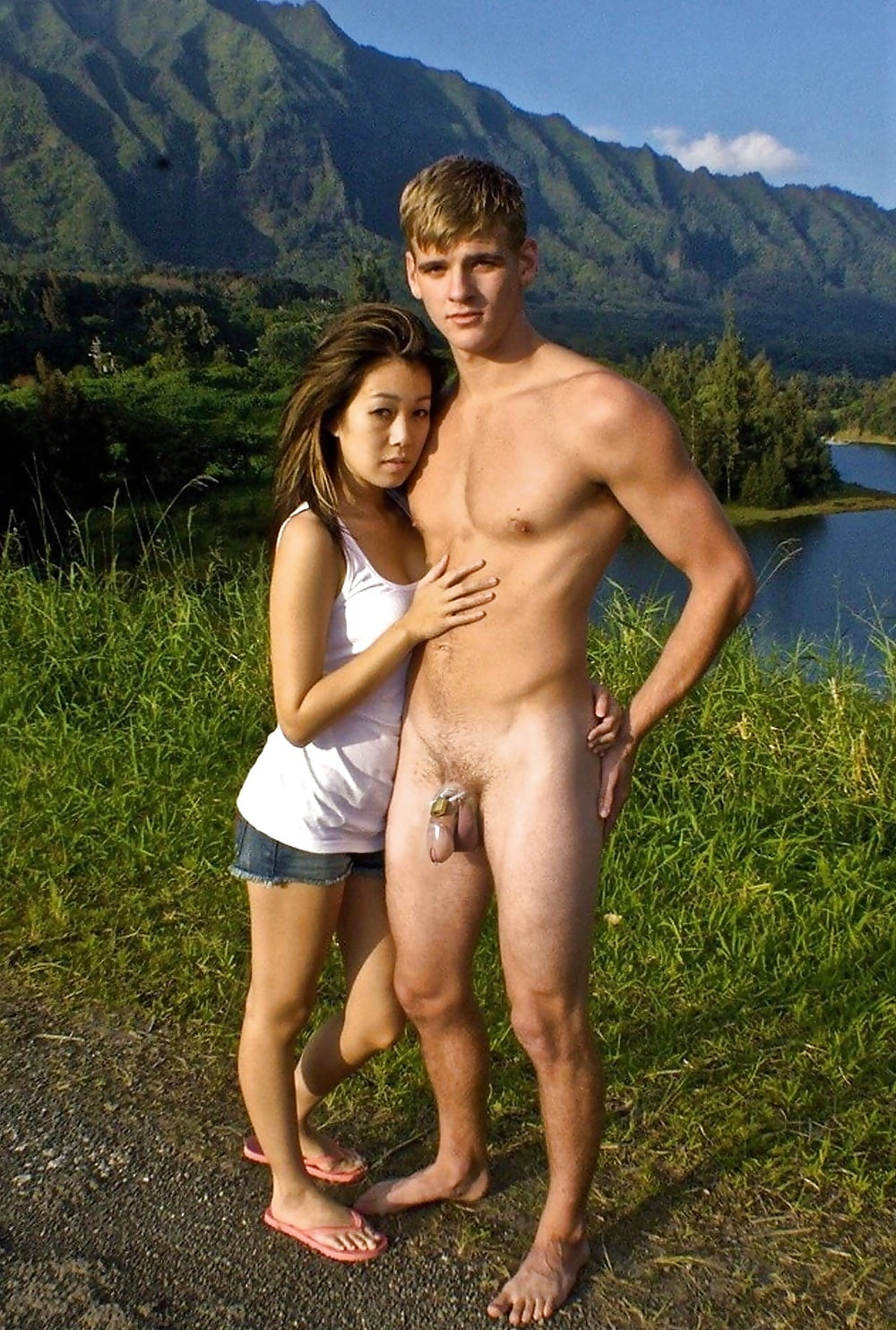 Cute naked men and women — photo 7