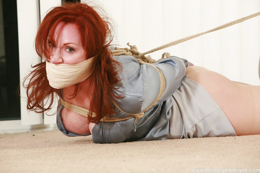 Tied Gagged Fucked Bondage