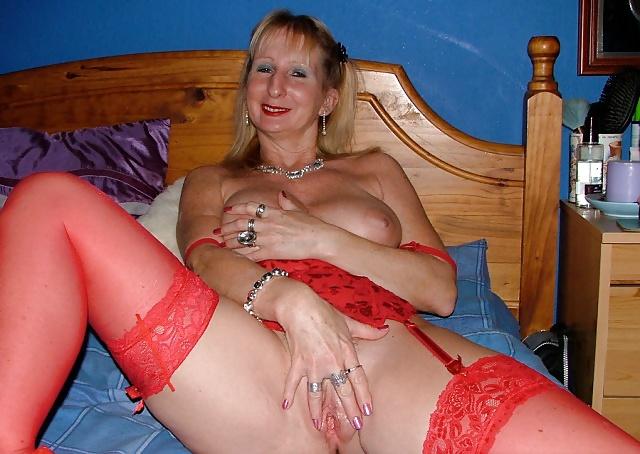 Porn mature stocking