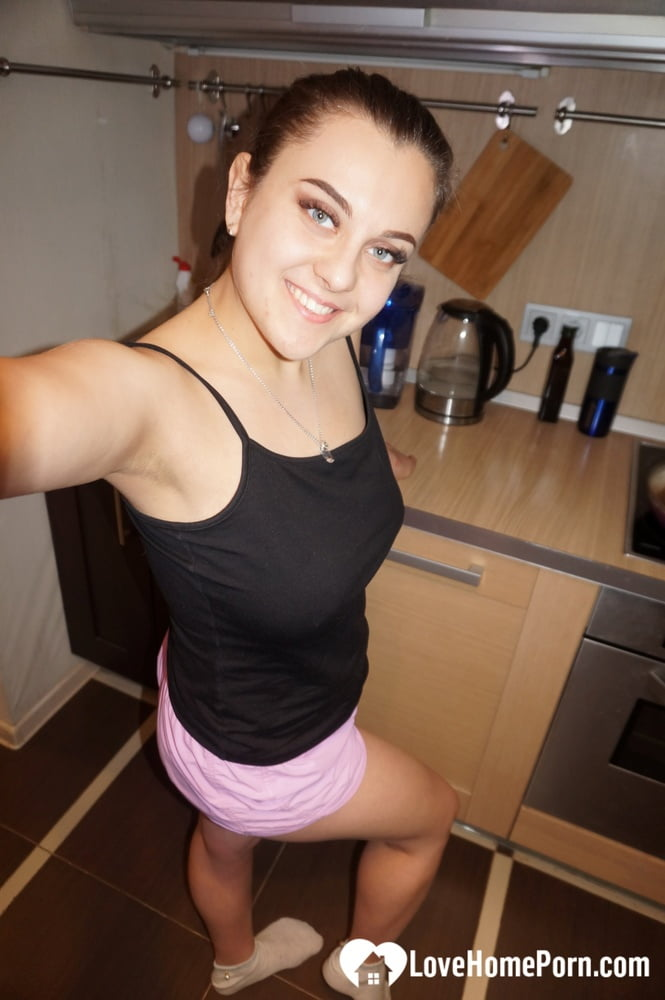 Cute office worker does a naughty shoot - 22 Pics