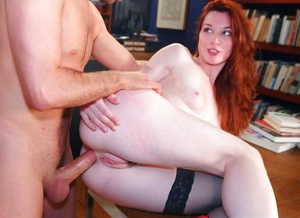 Sex layla anal redhead photos nacket pain